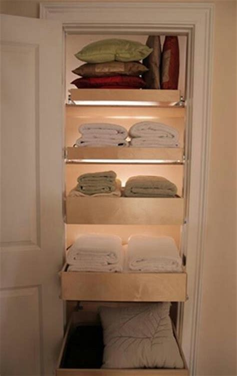 Diy Linen Closet With Drawer