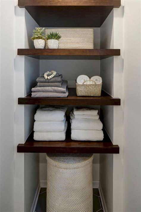 Diy Linen Shelves