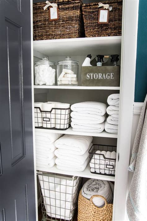 Diy Linen Storage Ideas