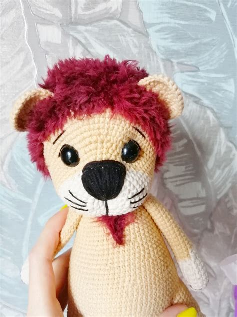 Diy Lion Plush Doll