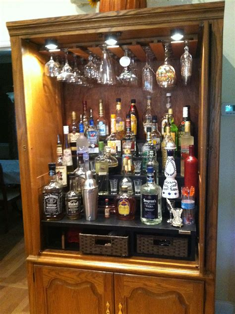 Diy Liquor Cabinet Ideas From Old Furniture