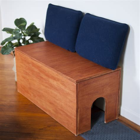 Diy Litter Box Bench
