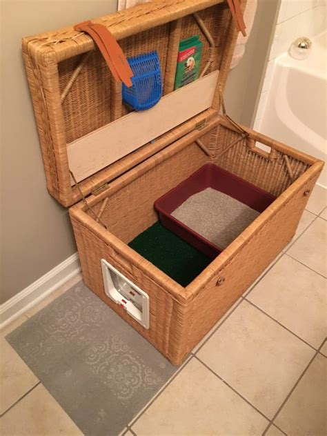 Diy Litter Box With Tray