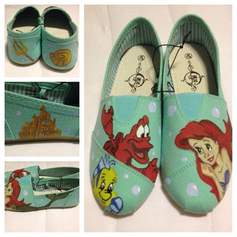 Diy Little Mermaid Shoes