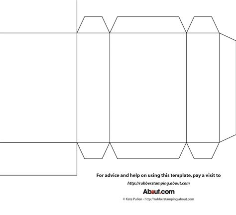 Diy Little Table Box Template