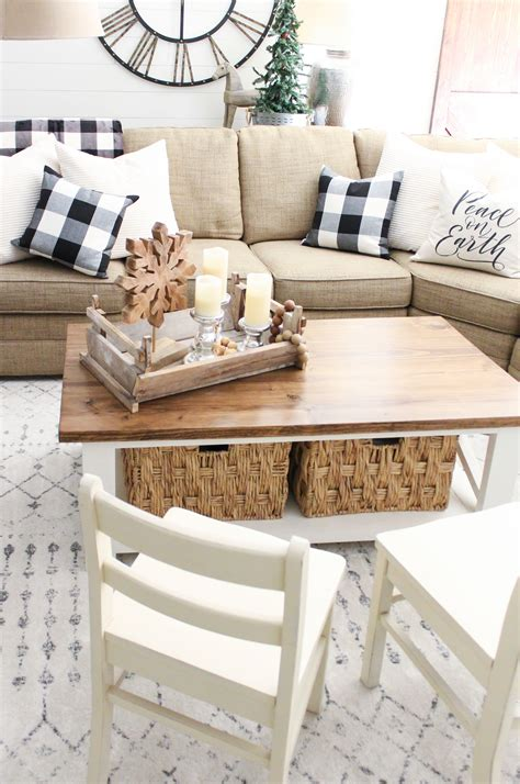 Diy Living Room Table Pinterest