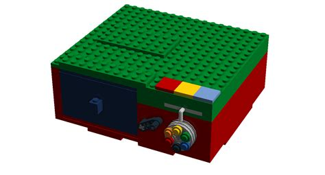 Diy Lock Box From Lego