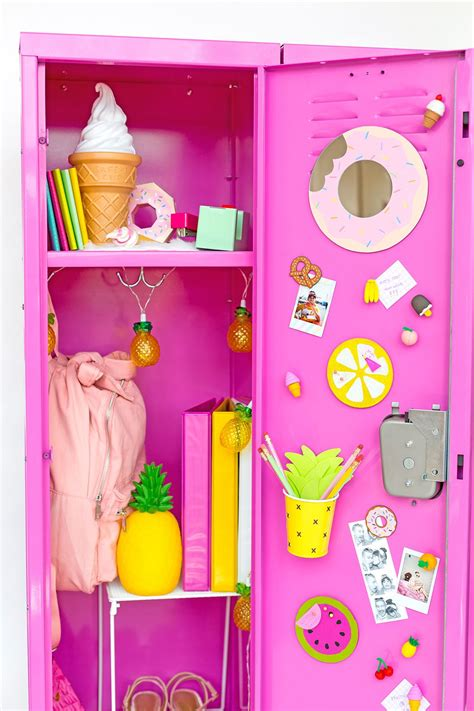 Diy Locker Decor For Middle School