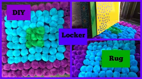 Diy Locker Rug