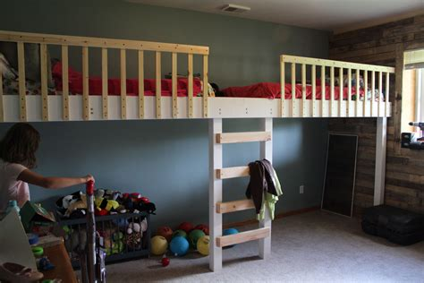 Diy Loft Bed Designs For Boys