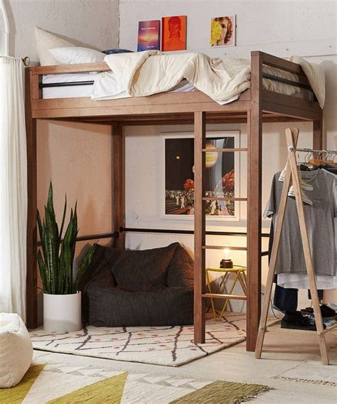 Diy Loft Bed For Adults Plansource