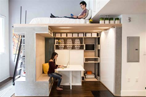 Diy Loft Bed For Small Adults Size