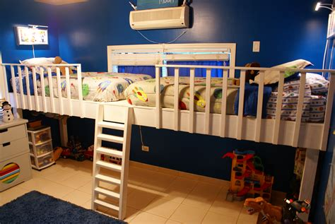Diy Loft Bed For Two Kids