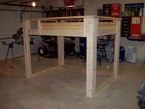 Diy Loft Bed Full Size