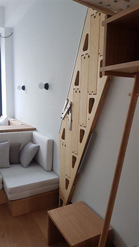 Diy Loft Bed Stairs Ladder Home