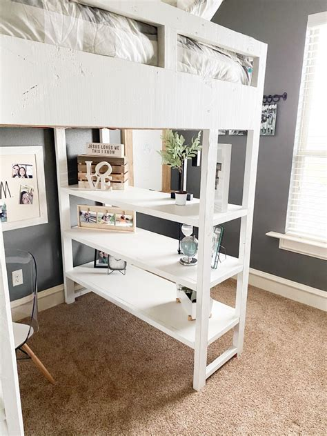 Diy Loft Bed With Dresser