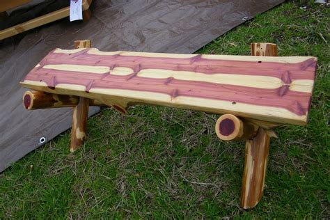 Diy Log Bench Ideas