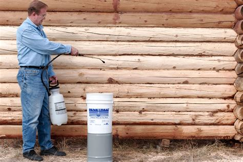 Diy Log Home Wood Treatment For Insects