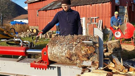 Diy Log Splitter Lifts Youtube