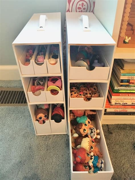 Diy Lol Doll Storage