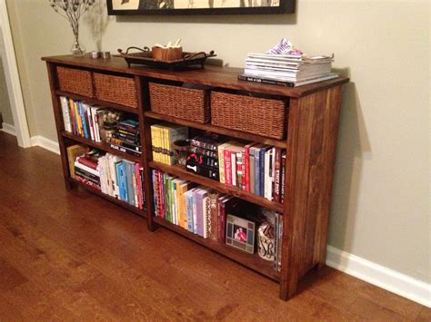 Diy Long Bookshelf