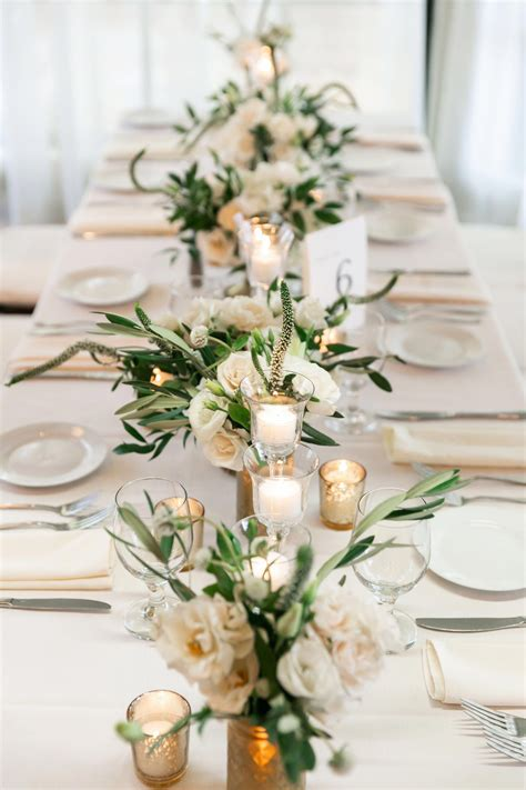 Diy Long Table Flower Arrangements