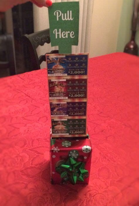 Diy Lottery Ticket Box