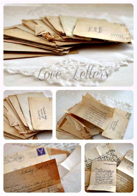 Diy Love Letter Box Set