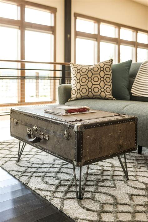 Diy Luggage Coffee Table