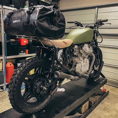 Diy Luggage Rack Motorcycle