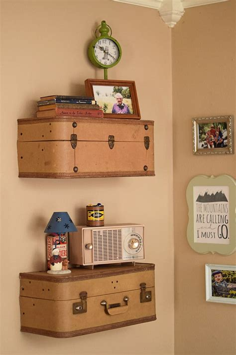 Diy Luggage Shelves