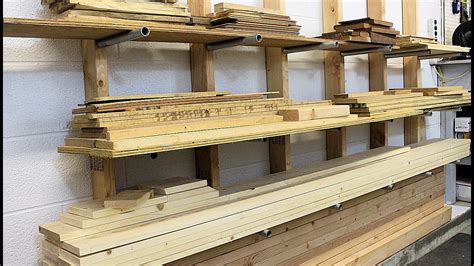 Diy Lumber Rack Pipe