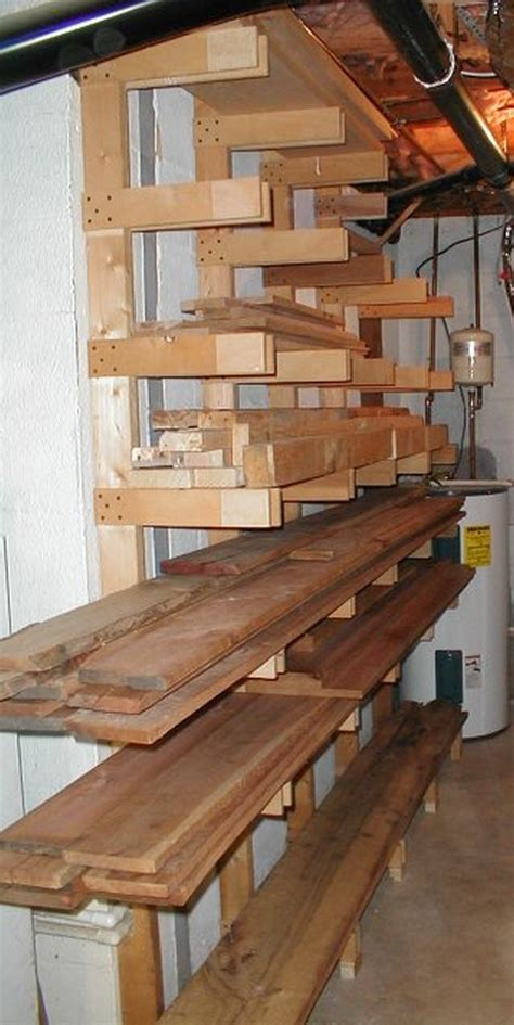 Diy Lumber Rack Storage