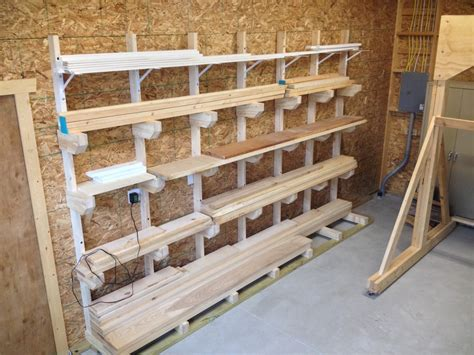 Diy Lumber Rack Wood Whisperer Crosscut