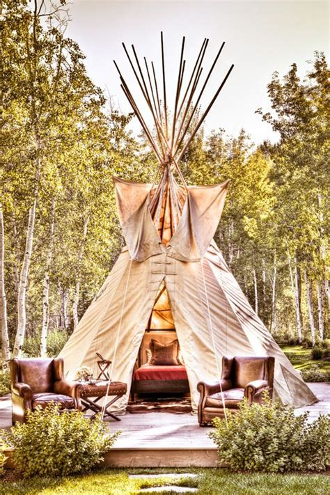 Diy Luxury Outdoor Teepee