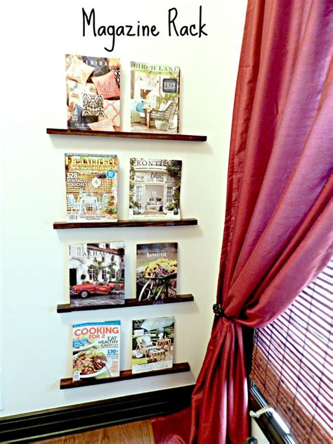 Diy Magazine Rack Pinterest Ipo