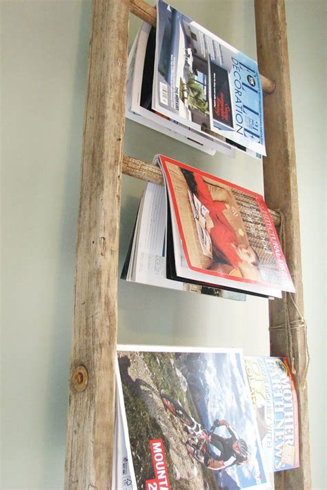 Diy Magazine Racks For Home