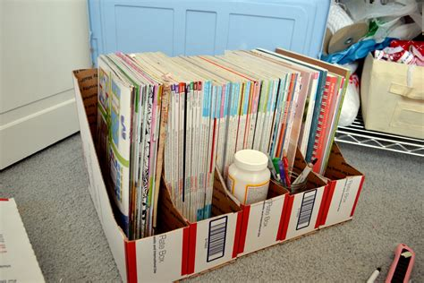 Diy Magazine Storage Boxes