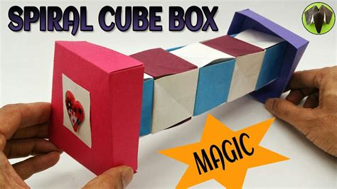 Diy Magic Cube Box