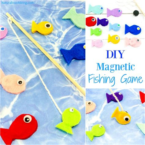 Diy Magnetic Fishing Game