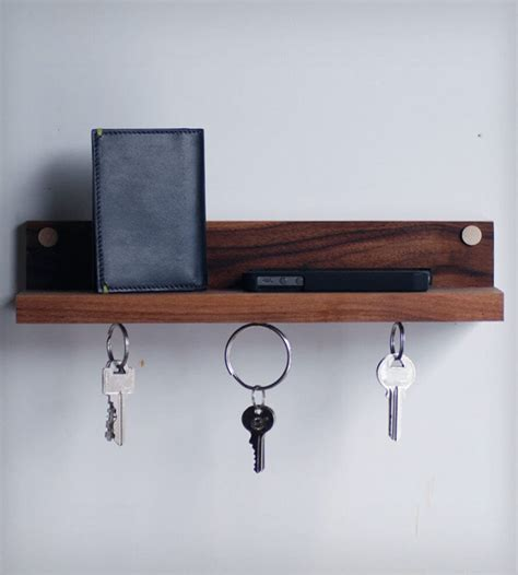 Diy Magnetic Key Rack