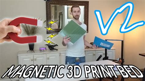 Diy Magnetic Printing Bed