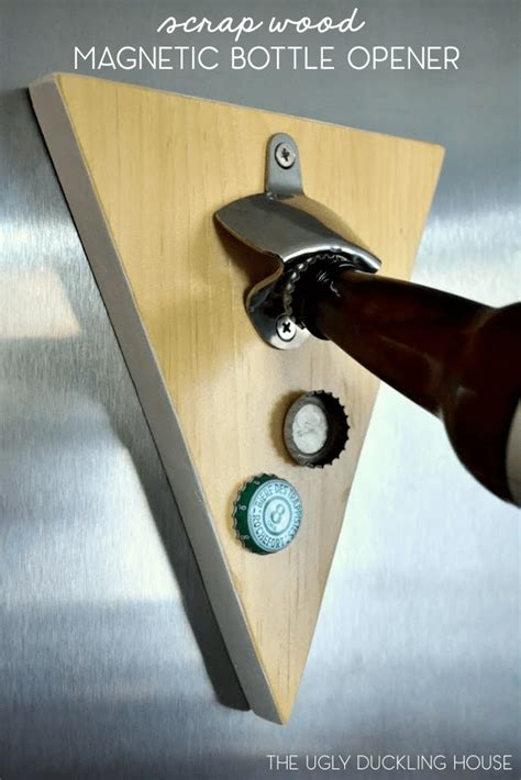 Diy Magnetic Wood Bottle Opener