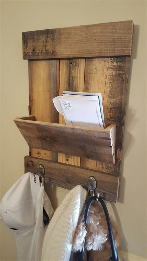 Diy Mail Center Wood