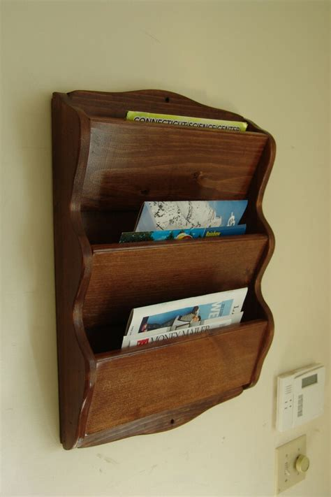 Diy Mail Holder Wall Mount