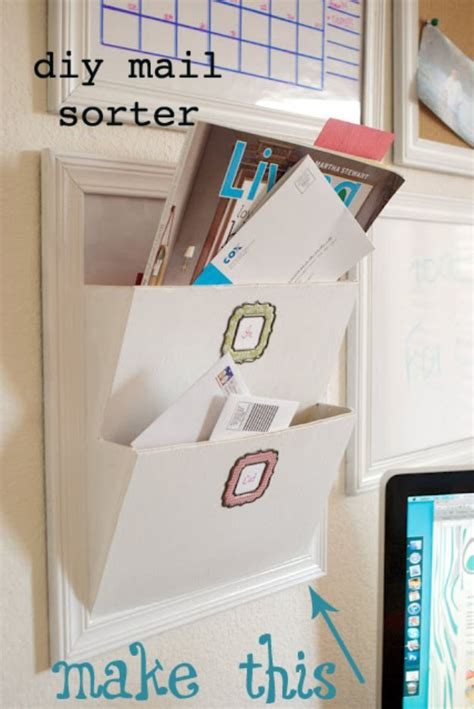 Diy Mail Organizer Plans