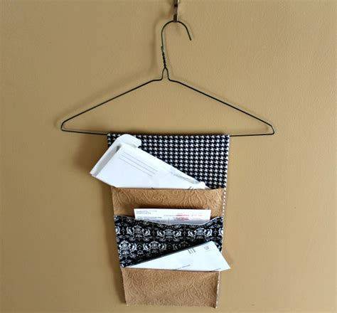 Diy Mail Organizer Wall Hanging
