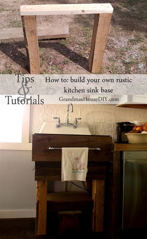 Diy Maje Your Own Metal Legs For Sink Base