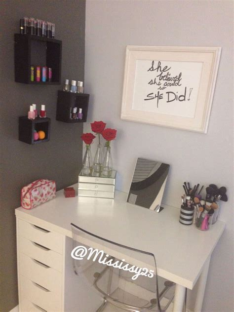 Diy Makeup Desk