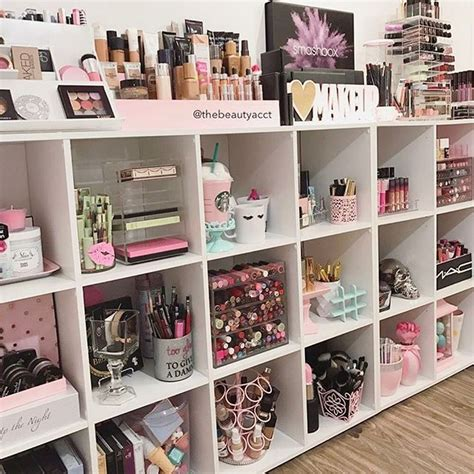 Diy Makeup Organizer For Wall